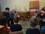 Saksa gümnaasiumi lapsed külas Vikerkaares