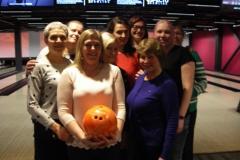 Õpetajad bowlingus